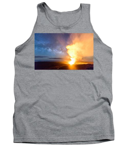 A Cosmic Fire Tank Top