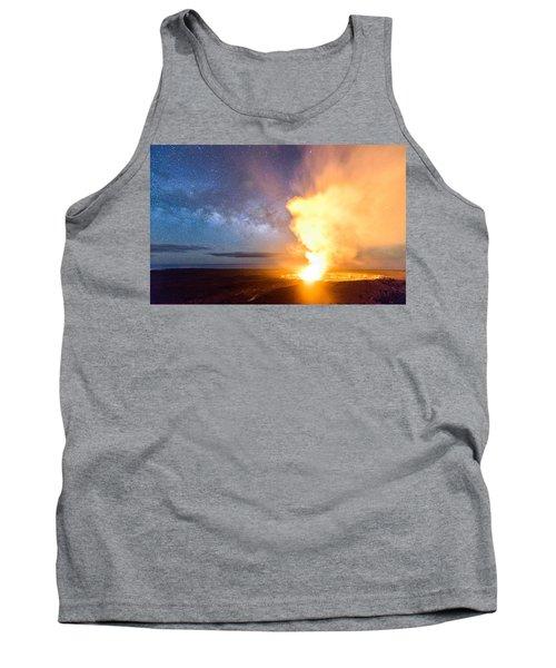 A Cosmic Fire Tank Top