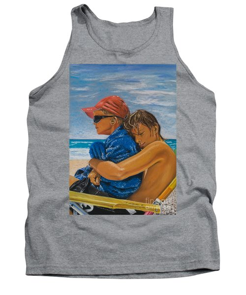 A Day On The Beach Tank Top