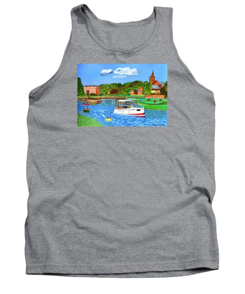 A Day On The River Tank Top