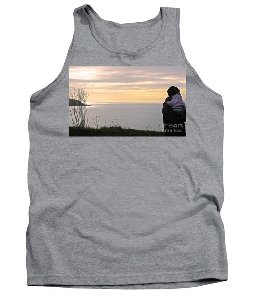 Tank Top featuring the photograph A Father's Love by Suzanne Oesterling