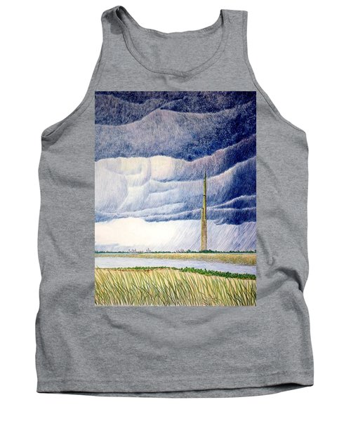 Tank Top featuring the painting A Finger To The Sky by A  Robert Malcom