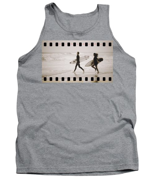 Tank Top featuring the photograph A Good Day To Surf by Alice Gipson