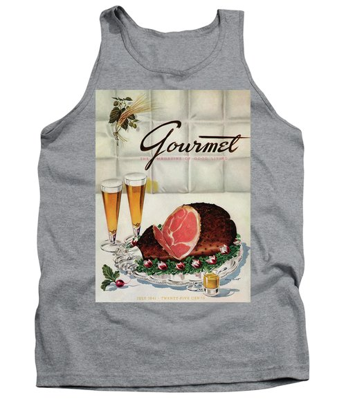A Gourmet Cover Of Ham Tank Top