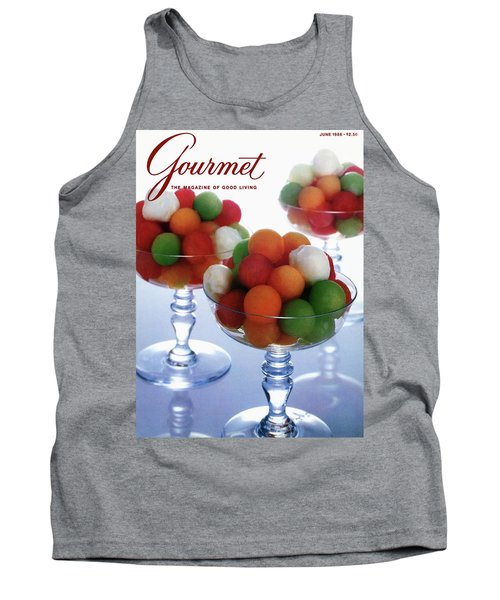 A Gourmet Cover Of Melon Balls Tank Top