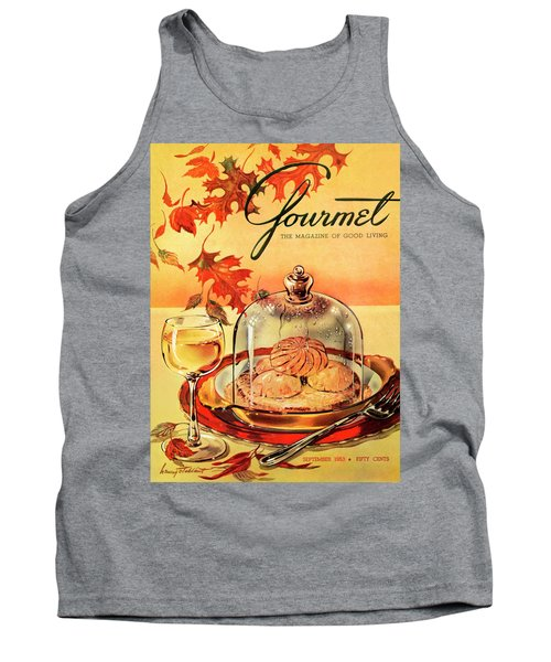 A Gourmet Cover Of Mushrooms On Toast Tank Top