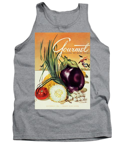 A Gourmet Cover Of Vegetables Tank Top