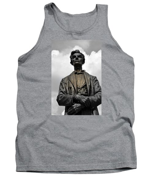 A Great Man Tank Top by Kathy Barney