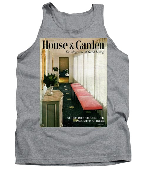 A House And Garden Cover Of A Hallway Tank Top