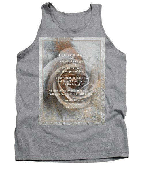 Tank Top featuring the photograph A Love Poem And Photograph by Brooks Garten Hauschild