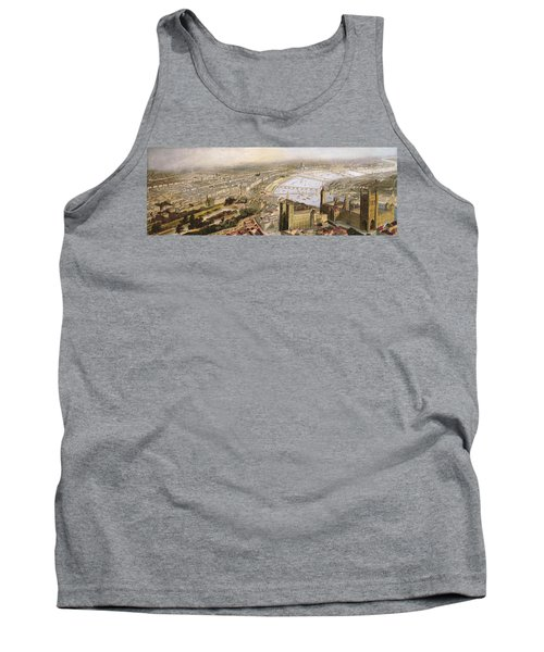 A Panoramic View Of London Tank Top by English School
