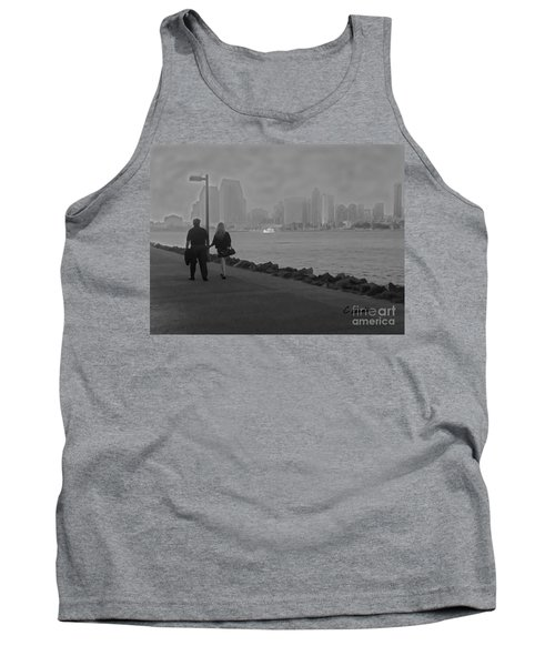 A Romantic Walk 2 Tank Top by Claudia Ellis
