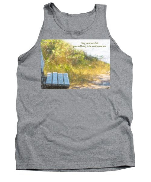 A Seat By The Ocean To Observe God's Beauty Tank Top