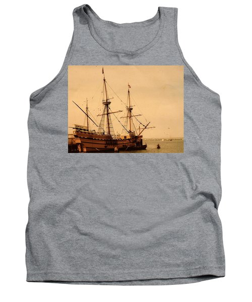 A Small Old Clipper Ship Tank Top