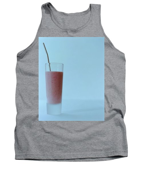 A Strawberry Flavored Drink Tank Top