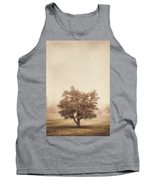 A Tree In The Fog Tank Top