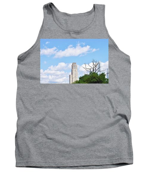A Unique Perspective Tank Top by Jean Goodwin Brooks