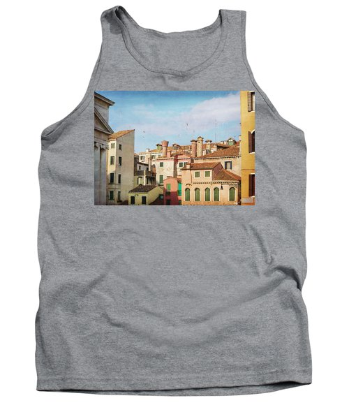 Tank Top featuring the photograph A Venetian View by Brooke T Ryan