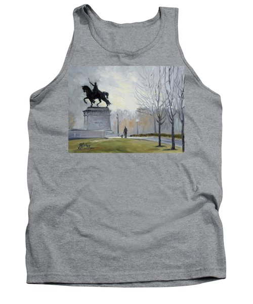 A Walk In Forest Park In St.louis Tank Top