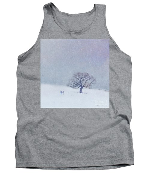 A Walk In The Snow Tank Top
