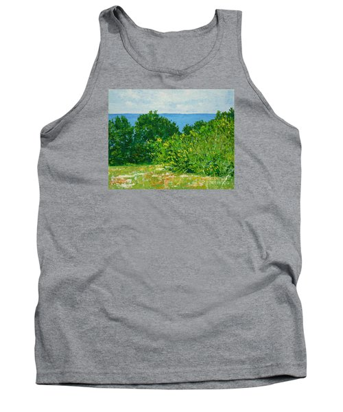 A Winter's Day At The Beach Tank Top