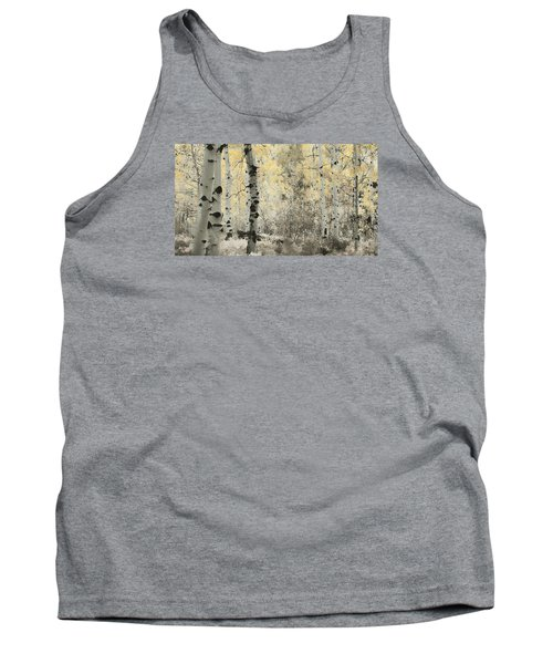 A Wisp Of Gold Tank Top