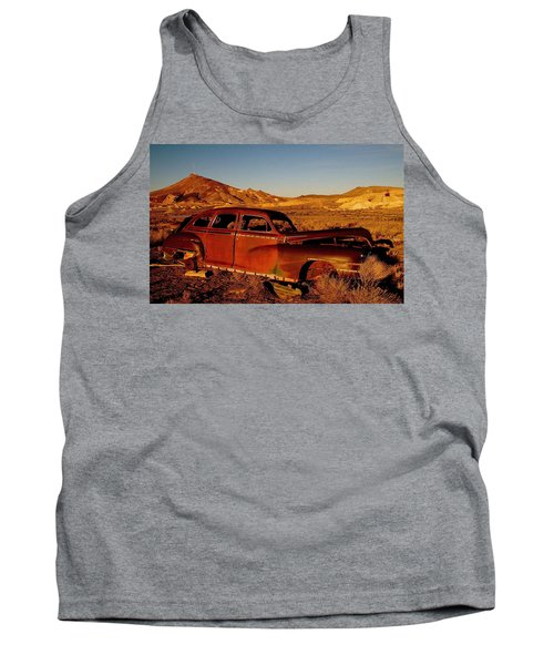 Abandoned And Forgotten Tank Top