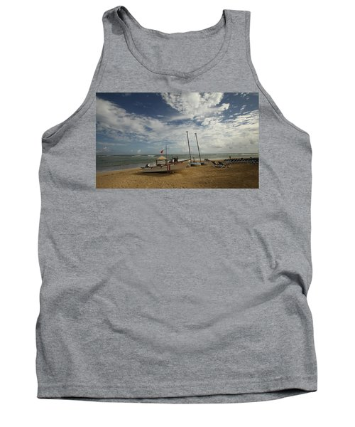 Abandoned Beach Tank Top