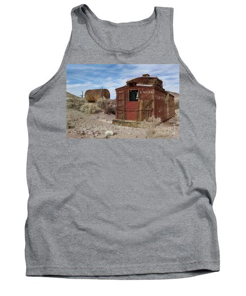 Abandoned Caboose Tank Top