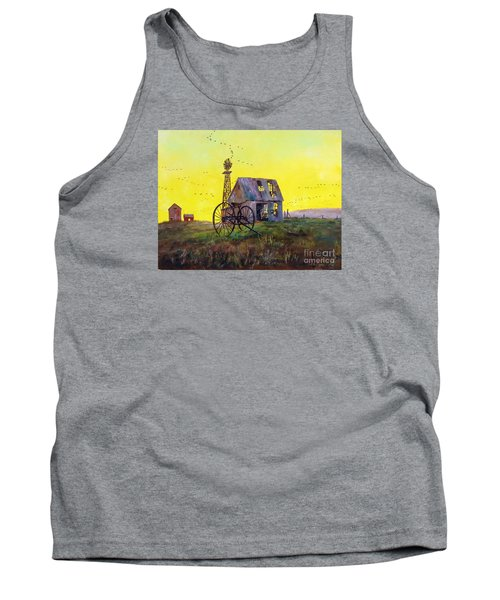 Abandoned  Farm Tank Top by Lee Piper