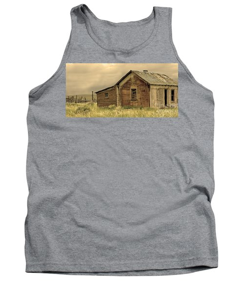 Tank Top featuring the photograph Abandoned by Nick  Boren