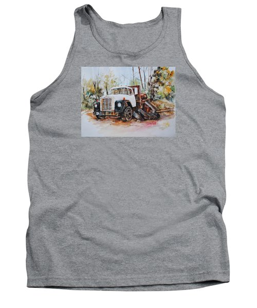 Abandoned Tank Top by P Anthony Visco