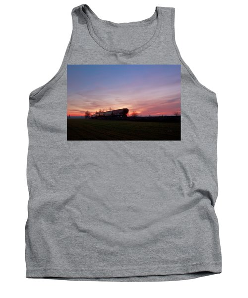 Tank Top featuring the photograph Abandoned Train  by Eti Reid