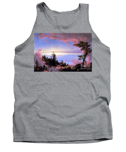 Above The Clouds At Sunrise By Frederick Edwin Church Tank Top