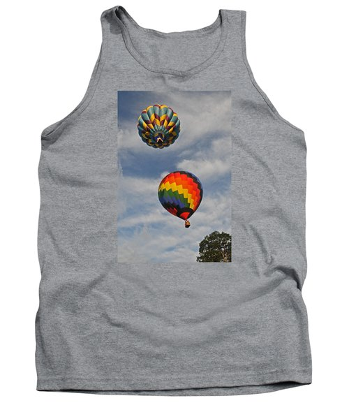 Tank Top featuring the photograph Above The Treetop by Mike Martin