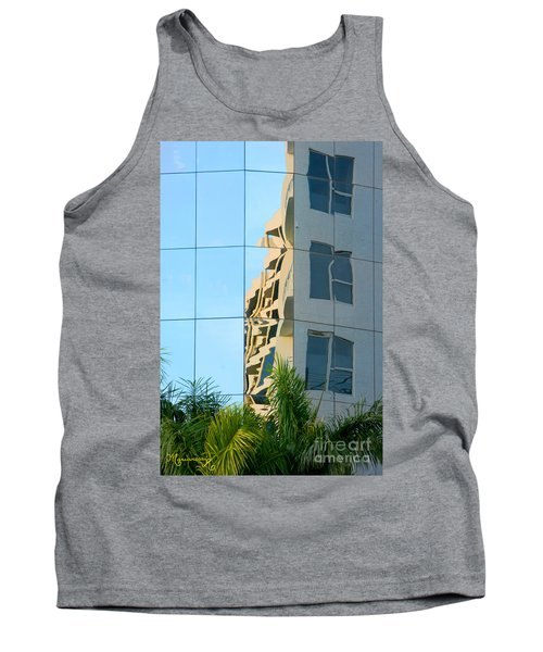 Abstract Architectural Shapes Tank Top