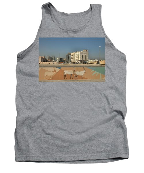 Tank Top featuring the photograph Abu Dhabi Outskirts by Steven Richman
