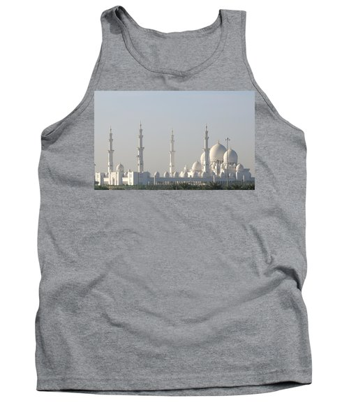 Abu Dhabi Sheikh Zayed Grand Mosque Tank Top