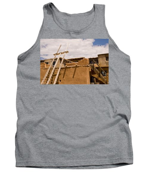 Acoma Building Tank Top by James Gay
