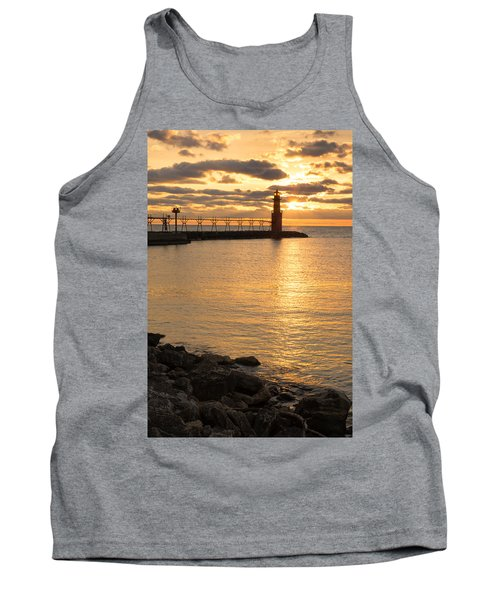 Across The Harbor Tank Top by Bill Pevlor