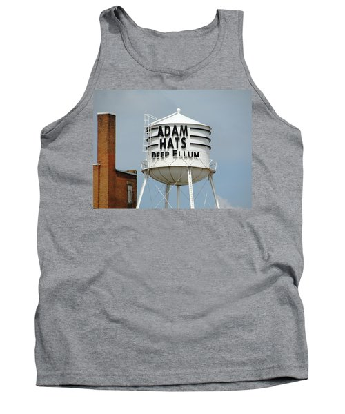 Tank Top featuring the photograph Adam Hats In Deep Ellum by Charlie and Norma Brock