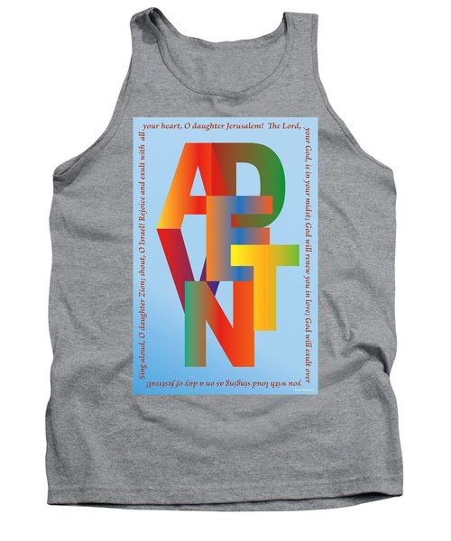 Advent Tank Top by Chuck Mountain
