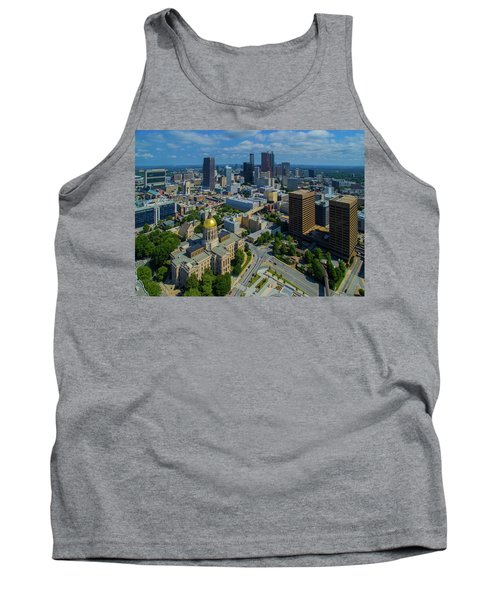 Aerial View Of Skyline And Georgia Tank Top