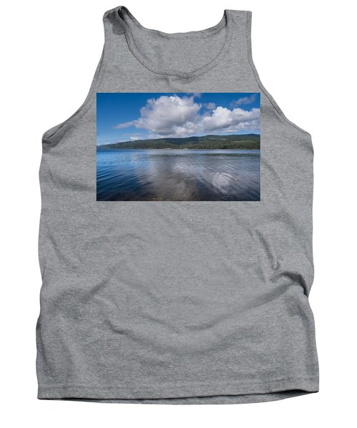 Afternoon Clouds Over Big Lagoon Tank Top