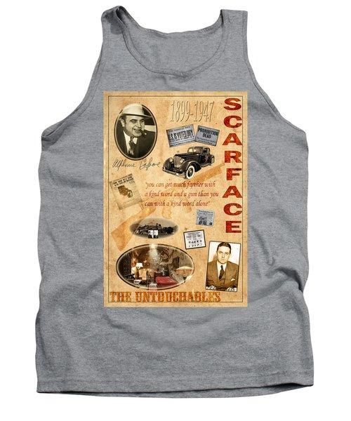 Al Capone Tank Top by Andrew Fare