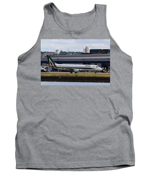 Alitalia  Embraer Erj-190 London City Airport Tank Top