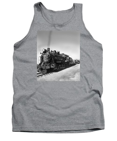 All Aboard Tank Top by Robert Bales