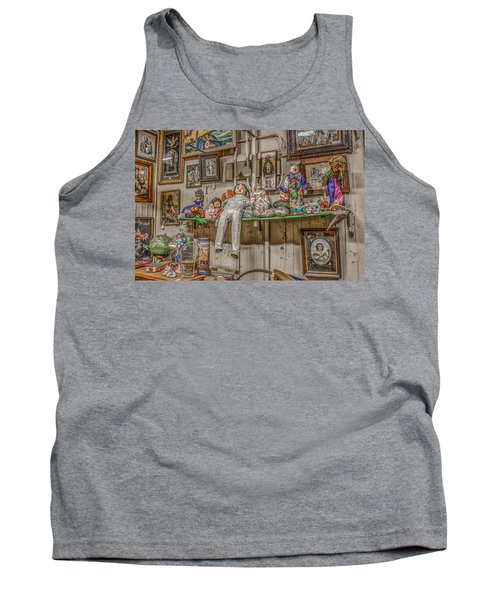 All By My Shelf Tank Top by Ray Congrove