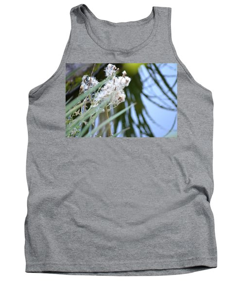 All The World Is Fluff And Posture Tank Top