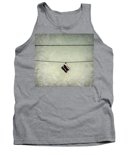 Tank Top featuring the photograph All Tied Up by Melanie Lankford Photography